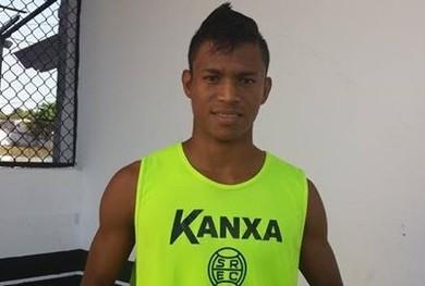 Atacante Jefferson é a última contratação do São Raimundo para a temporada (Foto: Divulgação/ São Raimundo)