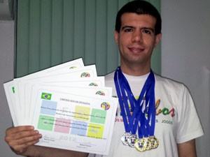 Fabio Graciose participa de competições há dois anos e já foi premiado (Foto: Arquivo pessoal)