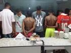 Oito pessoas são detidas com 1.500 pedras de crack em Januária