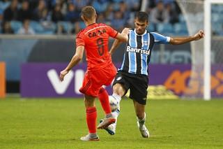 Rafael Thyere contra o Sport (Foto: Lucas Uebel / Grêmio, DVG)