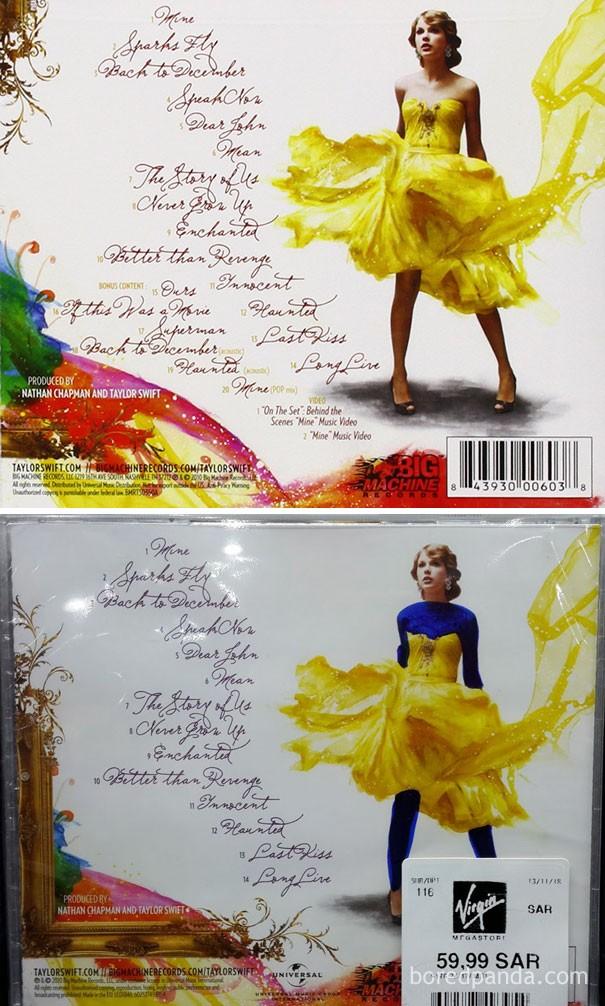 Taylor Swift (Foto: Bored Panda)
