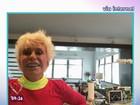 De NY, Ana Maria serve café da manhã e confessa: 'Morrendo de saudade'