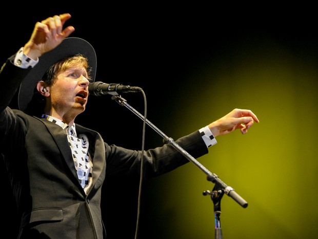 Beck apresentou sucessos em São Paulo (Foto: Flavio Moraes/G1)