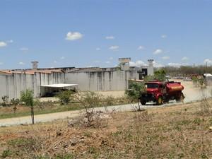 Penitenciária Estadual do Seridó foi interditada (Foto: Ilmo Gomes)