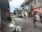 Homem é morto a tiros enquanto conversava em calçada de Manaus