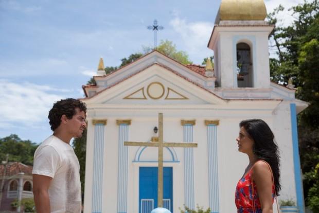Thiago Martins e Paloma Bernadi estrelam clipe de `Amor e Poder' (Foto: Reikrauss Benemond/Divulgação )