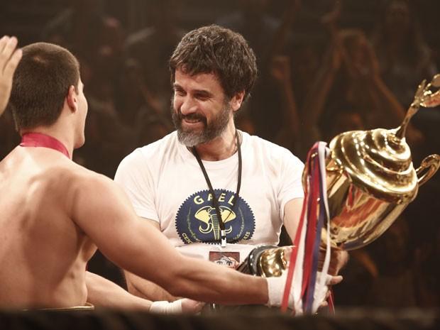 O garoto de ouro enche o Gael de orgulho (Foto: Inácio Moraes/Gshow)
