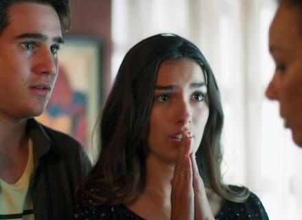 Luciana e Rodrigo pedem socorro à Vanda