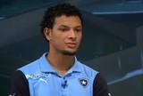 Arão elogia desempenho do Botafogo, mas diz que time está em formação