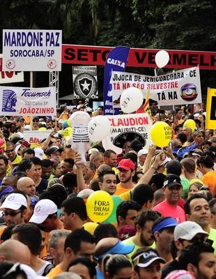 São Silvestre 2015 em São Paulo - atletismo corrida de rua (Foto: Marcos Ribolli)