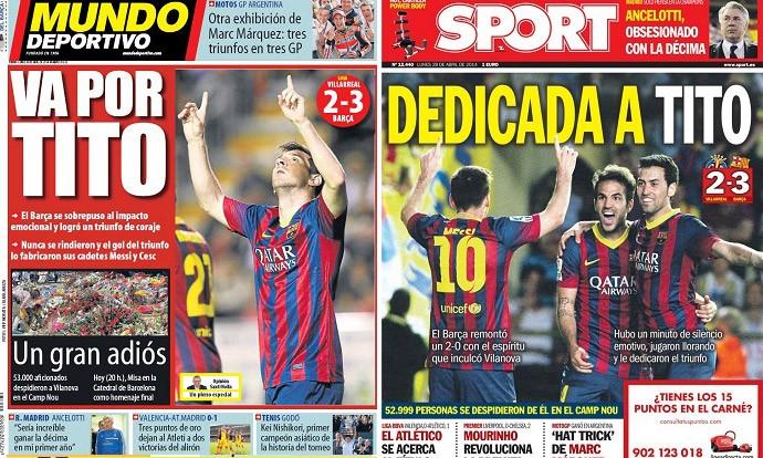 capas de jornais 28-04