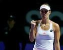 Classificada, Kerber derrota Keys e leva Cibulkova à semi no WTA Finals