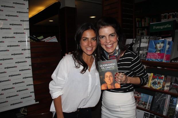 Carol Barcellos e Mariana Gross  (Foto: Rogerio Fidalgo - AgNews)