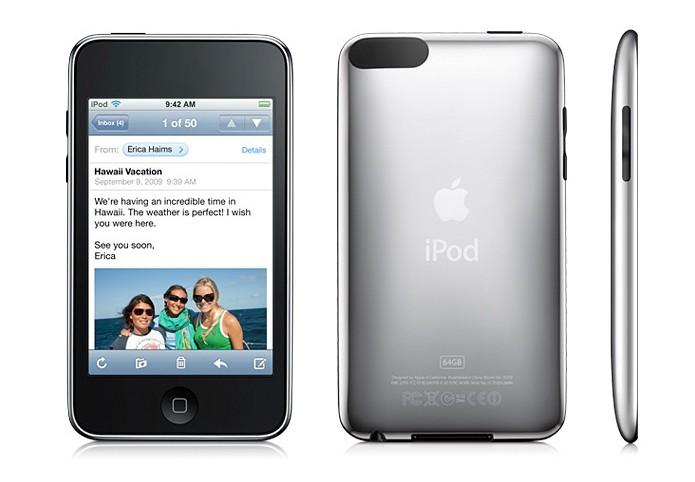 Primeira geração da linha iPod touch já era semelhante ao iPhone 2G  (Foto: Divulgação)