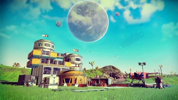 Apesar de grandes polêmicas no lançamento, No Man's Sky tem um enorme universo para explorar e atualizações recentes têm adicionado conteúdo extra ao game (Foto: Reprodução/EGM Now)