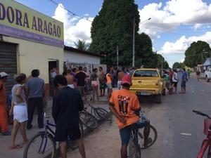 Policial foi atingido na casa onde mora, na zona Oeste (Foto: Inaê Brandão/G1)