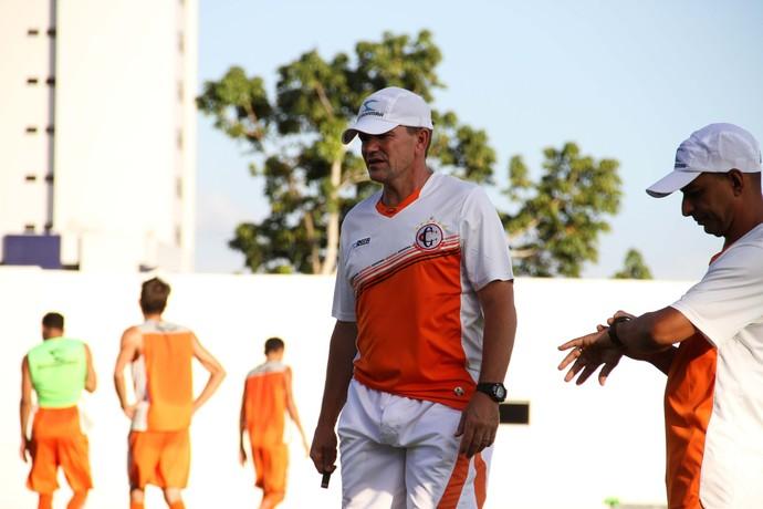 Paulo César Schardong, novo técnico do Campinense (Foto: Nelsina Vitorino / Jornal da Paraíba)