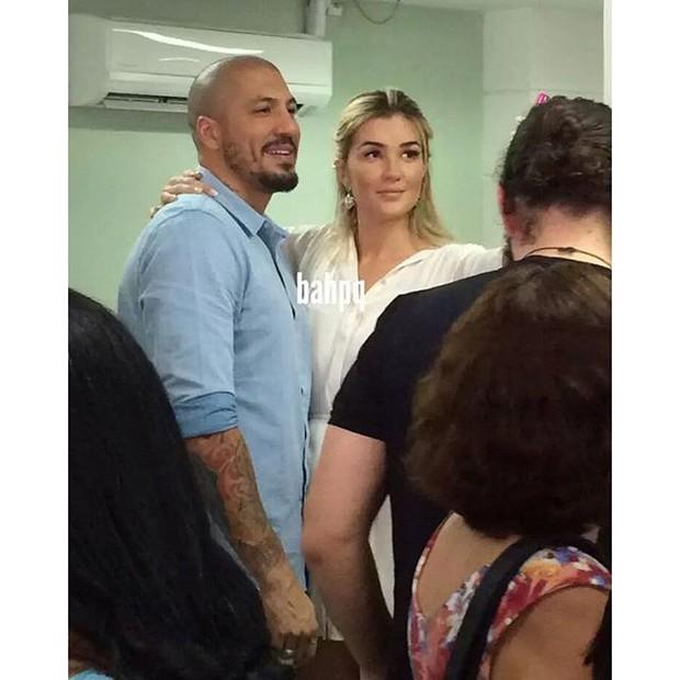 Aline e Fernando Medeiros (Foto: Reprodução/Instagram)