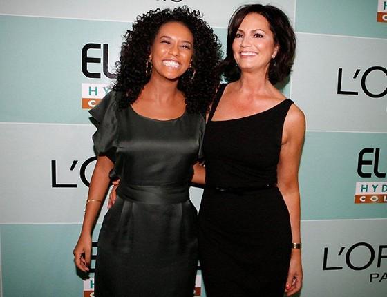 Taís Araújo e Luiza Brunet são algumas das mulheres que participam do Elas por Elas  (Foto: Editora Globo)
