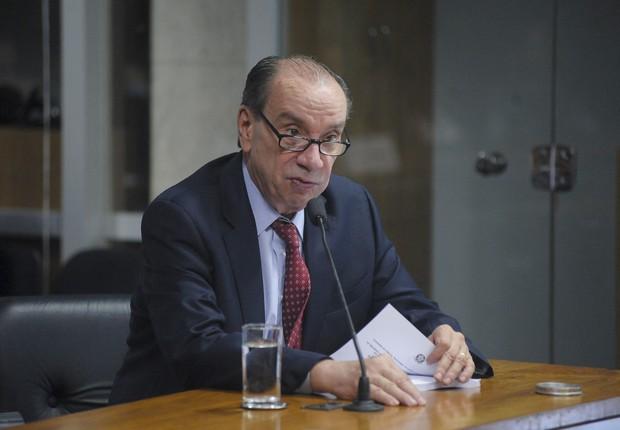 Temer escolhe Aloysio Nunes Ferreira para líder do governo no Senado (Foto: Pedro França/ Agência Senado)