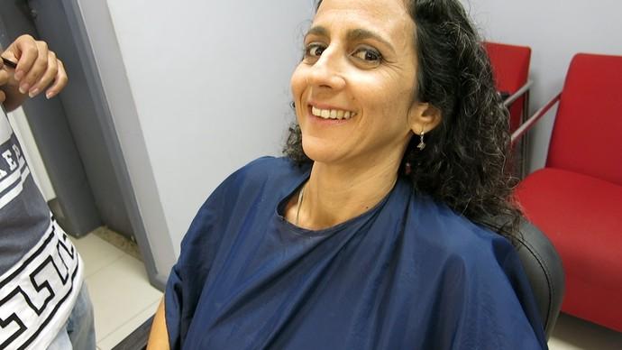 Maria Menezes fala das delícias e desafios da maternidade (Foto: TV Bahia)