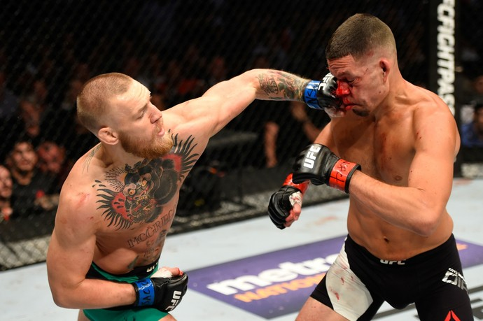 Conor McGregor Nate Diaz (Foto: Getty Images)