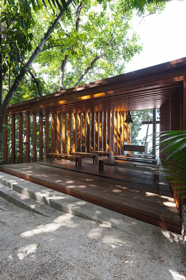 Conheça capelas contemporâneas em que a arquitetura se une à religião (Foto: Tuca Reinés)