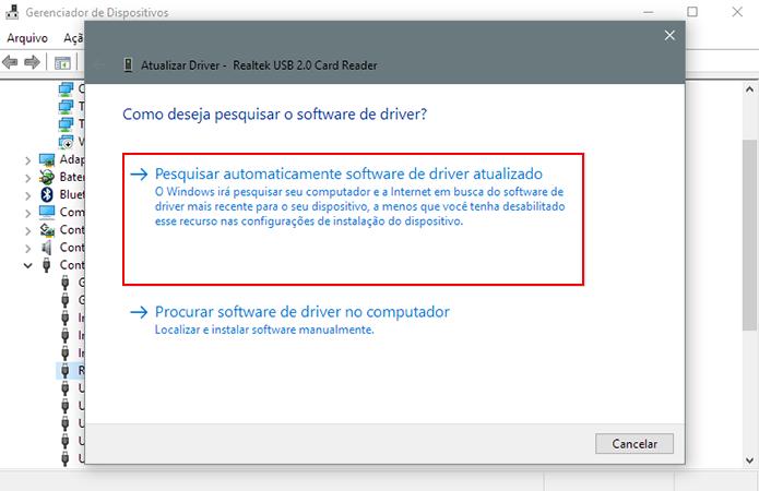 Faça o download de um novo driver (Foto: Reprodução/Paulo Alves)