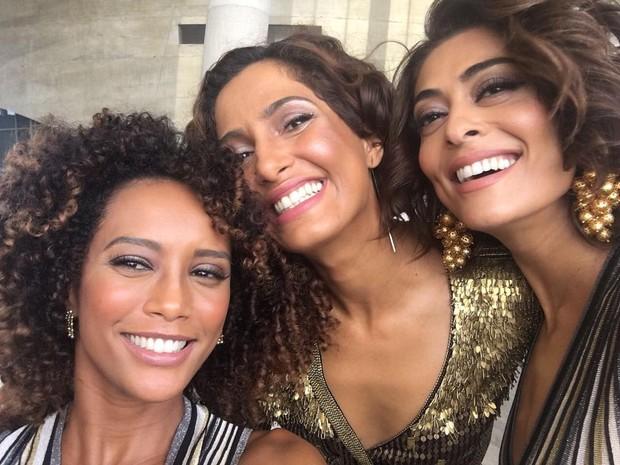 Taís Araújo, Camila Pitanga e Juliana Paes (Foto: Instagram / Reprodução)