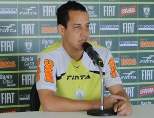 Rodriguinho, meia do América-MG. (Foto: Gabriel Medeiros / Globoesporte.com)