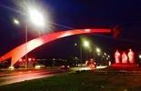 Monumentos ganham iluminação especial para homenagear centenário (Edmo Anderson)