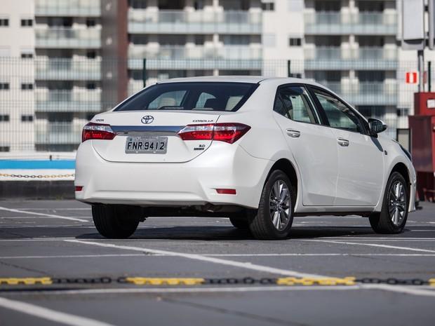 Toyota Corolla Altis (Foto: Marcelo Brandt / G1)