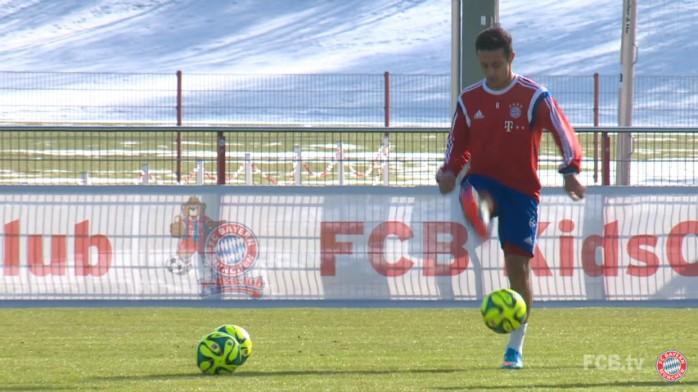 BLOG: O que o Brasil perdeu... Bayern reúne jogadas habilidosas de Thiago Alcântara