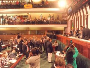 Lei Orçamentária é aprovada por unanimidade na AL, na Bahia (Foto: Divulgação/Alba)