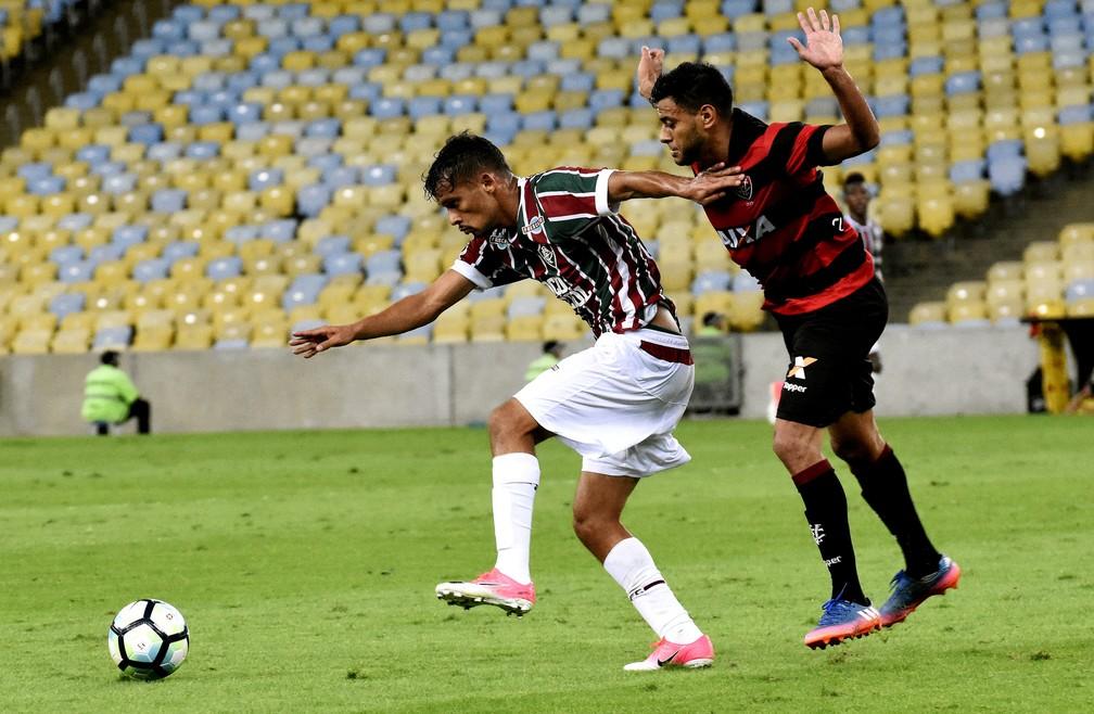 Gustavo Scarpa voltou a ser destaque em vitória do Fluminense (Foto: Mailson Santana/Fluminense FC)