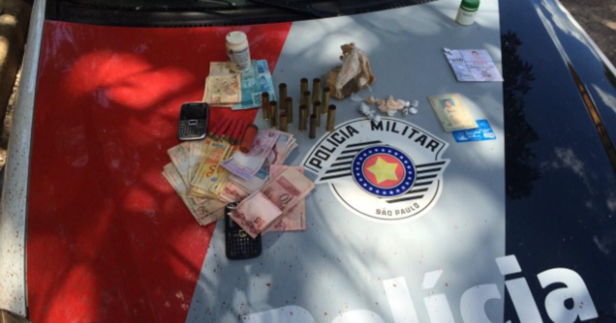 Suspeito de tráfico de drogas é preso em Águas de Santa Barbara - Globo.com