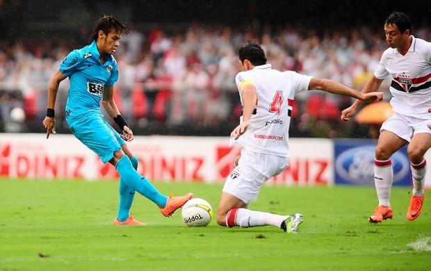 rhodolfo são paulo neymar santos (Foto: Marcos Ribolli / Globoesporte.com)