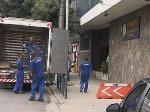 Sede da Polícia Rodoviária Federal em Salvador muda de endereço (Foto: Reprodução / TV Bahia)