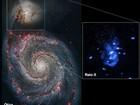 Telescópio da Nasa registra buraco negro 'arrotando' gás