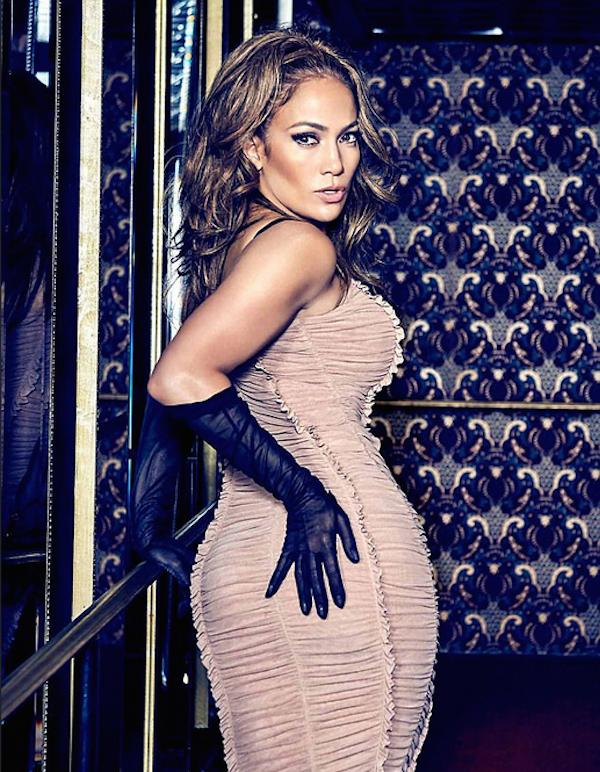 A cantora Jennifer Lopez em seu ensaio para a marca Guess (Foto: Divulgação)