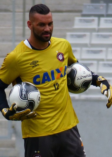 Weverton Atlético-PR (Foto: Monique Silva)