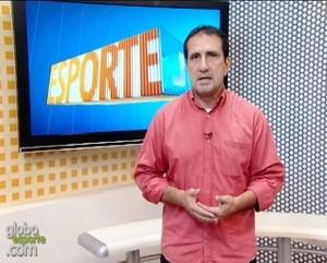 Nelson Mota - Comentarista TV Tapajós (Foto: Reprodução/TV Tapajós)