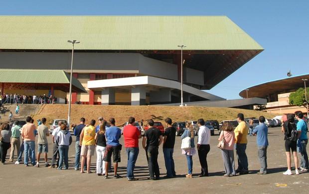 Ginásio Goiânia Arena (Foto: Cristiano Borges/O Popular)