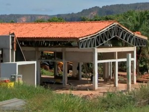 Revitalização da Salgadeira teve início em janeiro de 2014 (Foto: Reprodução/TVCA)