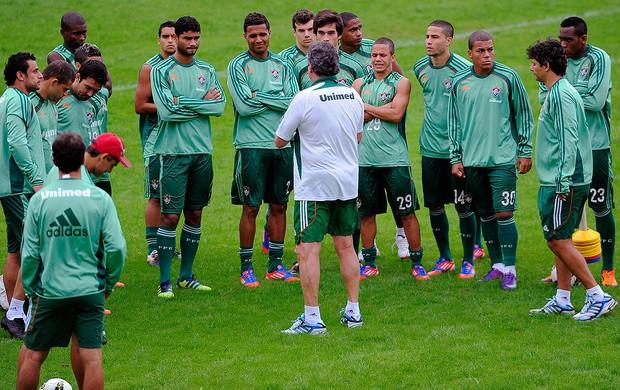 Treino do Fluminense, Abel (Foto: Dhavid Normando / Photocamera)
