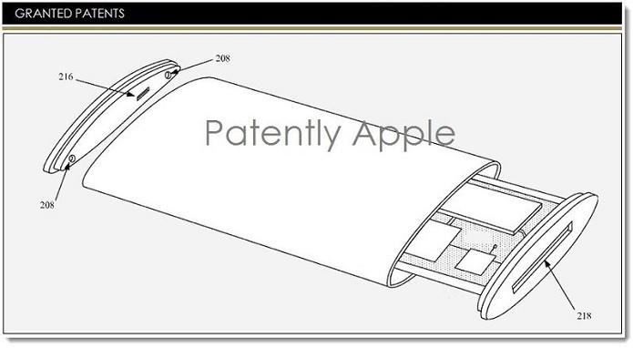 Aparelho também teria sistema de câmeras integrada com software de reconhecimento facial (Reprodução/Patently Apple)