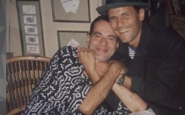 """Cazuza e Ney nos anos 1980: """"Achei engraçado resg (Foto: Reprodução)"""