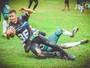 Dobbins vencem os Jegs pelo Desafio Norte e Sul de futebol americano