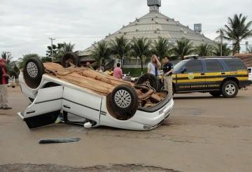 Acidente ocorreu em Primavera do Leste (Foto: João Paulo Rezende/ Clique F5)