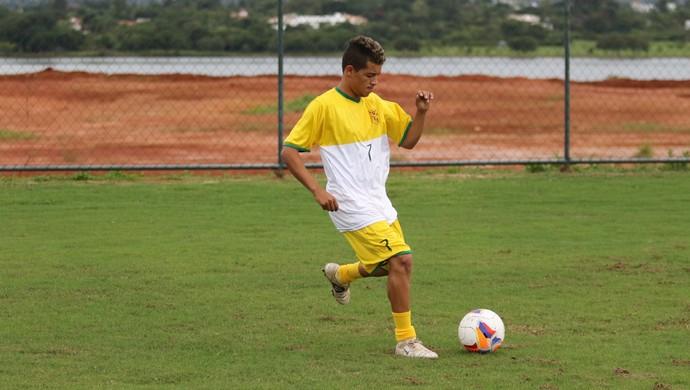 Jeffinho Brasiliense (Foto: Claudio Reis / BrasilienseFC)